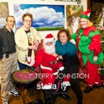 Terry Johnston, Jill Costers, Santa Claus