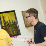 Ryan Spencer Reed Opening Reception of Shades of Grandeur