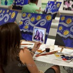 """Starry Night"" — Painting Class at Brush Studio"