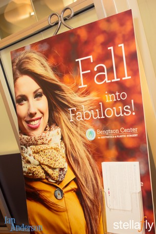 The Bengtson Center for Aesthetics and Plastic Surgery for their second annual Fall into Fabulous Health and Beauty Event