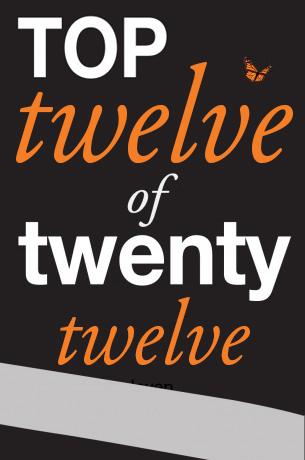 Stellafly's Top Twelve of Twenty-Twelve