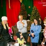 Santa Claus visits A.K. Rikk's