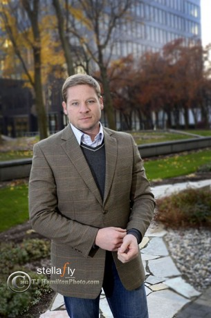 Downtown Dreamer: Kristopher Larson brings energy, ideas and a love of beer as new director of the Grand Rapids Downtown Development Authority