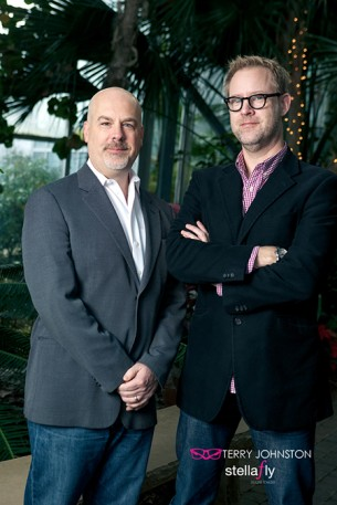 Steve Frazee and Bill Holsinger-Robinson: Your guides to tending the local economic rainforest.