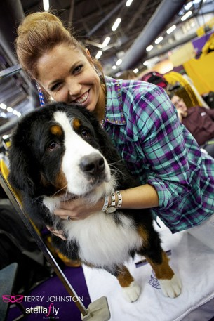 "Laura Lyn: Minnesota Vikings Cheerleader Shows at Westminster Kennel Club — the ""Super Bowl of Dog Shows."""