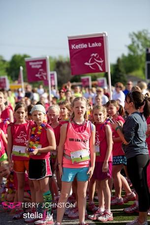 Kent County Girls on the Season Finale 5k Run