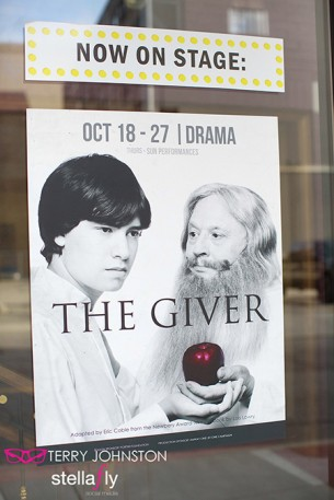 Banned book, soon to be a film, inspires youth to read: see The Giver at the Civic